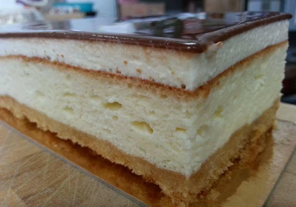 עוגת גבינה אפויה/ יקי שגיא קונדיטוריית ללוש